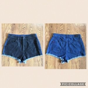URBAN OUTFITTERS BDG cheeky dree shorts size 29